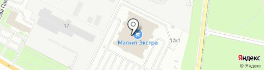 Енот на карте Великого Новгорода
