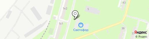Эксплуатационно-технический отдел №3 на карте Великого Новгорода