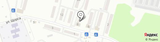 Скорая медицинская помощь на карте Смоленска