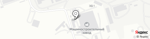 Смоленский завод металлоконструкций на карте Смоленска