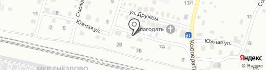 СмолТэкСервис на карте Смоленска