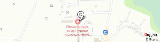 Поликлиника №8 на карте Смоленска