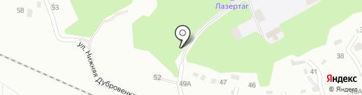 Снайпер на карте Смоленска
