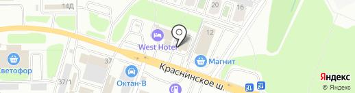 Агрофид на карте Смоленска