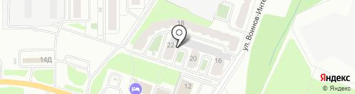 Лаваш на карте Смоленска