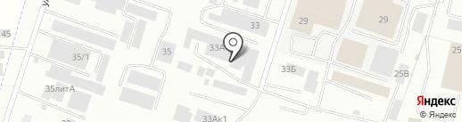 Инструмент-клуб на карте Смоленска
