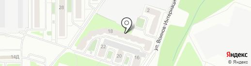 ТСЖ на карте Смоленска