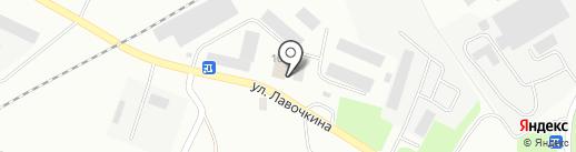 ХИМОПТТОРГ на карте Смоленска