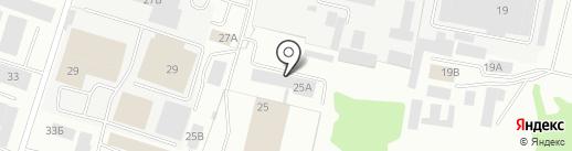БЕНТОК-СМОЛЕНСК на карте Смоленска