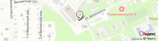Транспортная компания на карте Смоленска