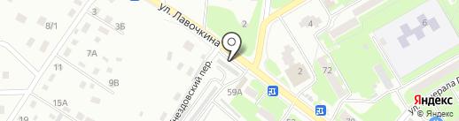 М-Авто на карте Смоленска