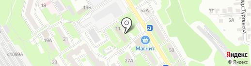 Технологии труда на карте Смоленска
