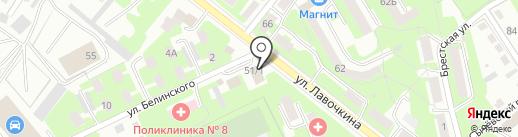 Ниагара на карте Смоленска
