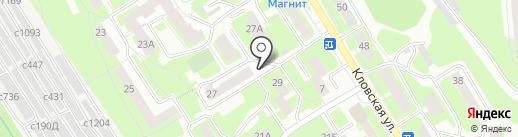 Магазин хозяйственных товаров на карте Смоленска