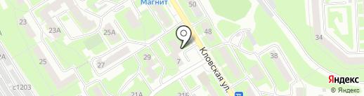 Дионис на карте Смоленска