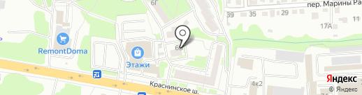 Медиком на карте Смоленска