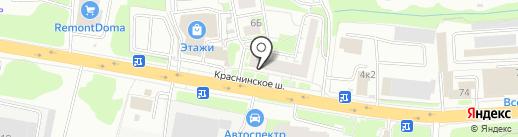 RESTART на карте Смоленска