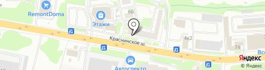 Электрик на карте Смоленска