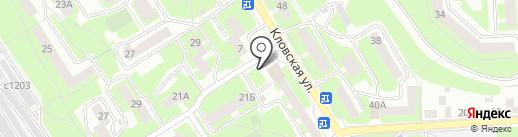 Киоск по продаже мяса на карте Смоленска