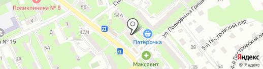 Прозрение на карте Смоленска