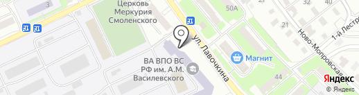 Банкомат, Банк ВТБ 24, ПАО на карте Смоленска