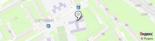 Средняя общеобразовательная школа №32 им. С.А. Лавочкина на карте Смоленска