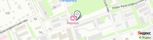 АВРОРА на карте Смоленска