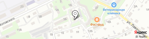 Мастер на дом на карте Смоленска
