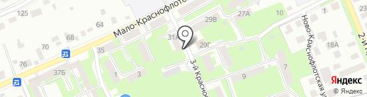 Мастерок на карте Смоленска