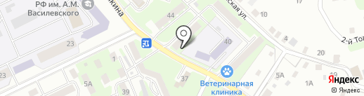 Велес на карте Смоленска