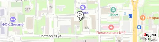 Радиочастотный центр центрального федерального округа, ФГУП на карте Смоленска