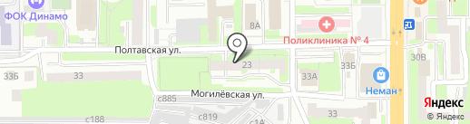 ФЕЯ на карте Смоленска
