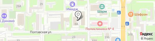 Корпорация по инвестиционному развитию Смоленской области на карте Смоленска