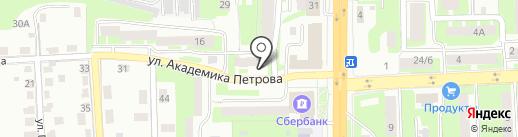 Сквирел Строй-Сервис на карте Смоленска