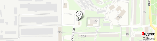 Матиз сервис на карте Смоленска