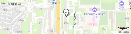 Клиника инновационной стоматологии на карте Смоленска