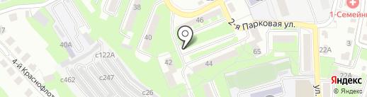 Фаворит на карте Смоленска