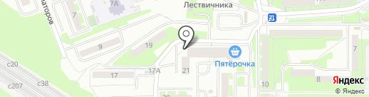 Korshunov на карте Смоленска