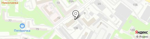 КДМ на карте Смоленска