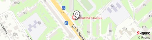 b2 на карте Смоленска