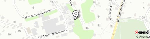 Магистраль на карте Смоленска