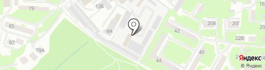 Тепловая инспекция на карте Смоленска