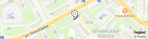 Robin на карте Смоленска