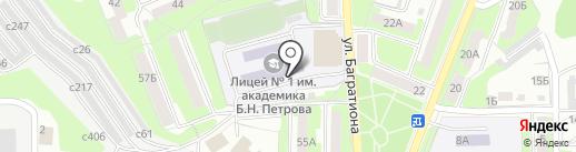Стиль на карте Смоленска