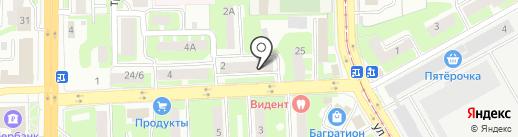 Экопрод на карте Смоленска