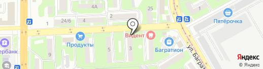 ТехКомСтрой на карте Смоленска