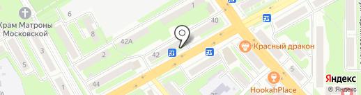 Полифарм на карте Смоленска