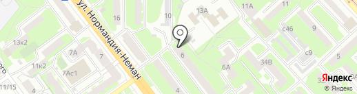 Магазин мебельной фурнитуры на карте Смоленска
