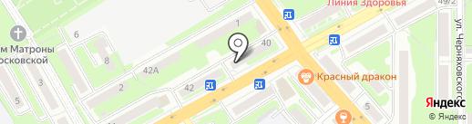 ФИЛИН на карте Смоленска
