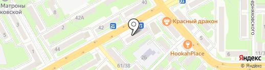 Максавит на карте Смоленска